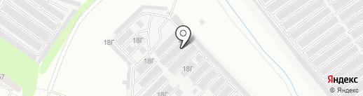 АвтоБокс 222 на карте Твери
