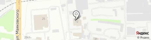Люкор на карте Твери