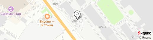 АВТО 69 на карте Твери