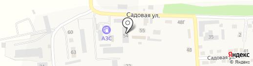 Октябрьское агрообъединение на карте Прямицыно