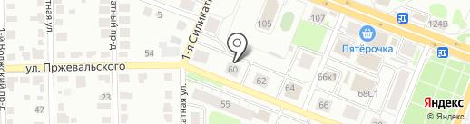 ПРЖЕВАЛЬСКОГО 60, ТСЖ на карте Твери
