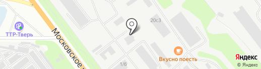 АВТОПОРТ на карте Твери