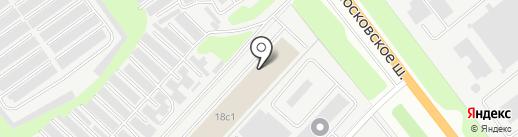 ПЭК на карте Твери