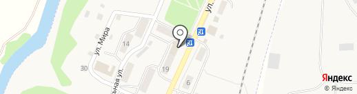Почтовое отделение на карте Полотняного Завода
