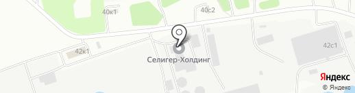 Селигер-Холдинг на карте Твери