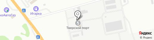 Современное строительство на карте Твери