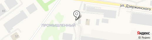 Товкер на карте Товарково
