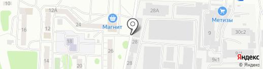 СФИНКС-Т на карте Твери