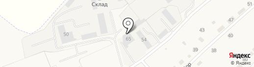 ФСТ на карте Полотняного Завода