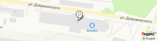 Форбо-Калуга на карте Товарково