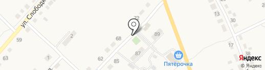Мини-маркет на карте Полотняного Завода