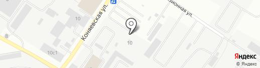 TverAvtoGlass на карте Твери