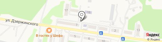 Магазин продуктов на карте Товарково