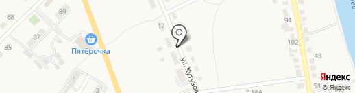 Капитал-Электрик на карте Полотняного Завода