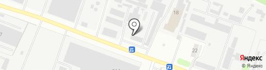 Центральное конструкторское бюро транспортного машиностроения на карте Твери
