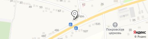 Крепеж на карте Прямицыно