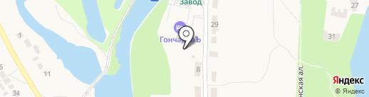 ГончаровЪ на карте Полотняного Завода