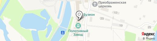 Детская школа искусств им. Н. Гончаровой на карте Полотняного Завода