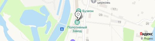 Историко-архитектурный и природный музей-усадьба Полотняный Завод на карте Полотняного Завода