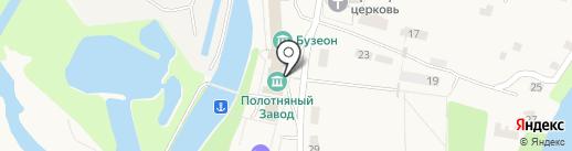 Полотняный Завод на карте Полотняного Завода
