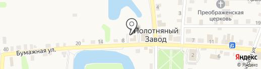 Поселковая управа городского поселения пос. Полотняный Завод на карте Полотняного Завода