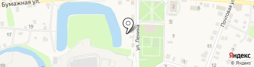 Канцтовары на карте Полотняного Завода