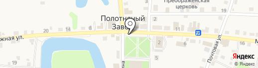 Опорный пункт полиции на карте Полотняного Завода
