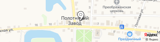 Строймаркет на карте Полотняного Завода