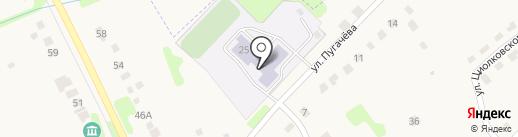 Полотняно-Заводская средняя общеобразовательная школа №1 на карте Полотняного Завода