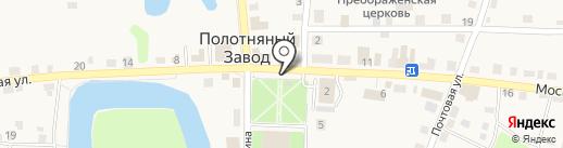 Мясо Маркет на карте Полотняного Завода