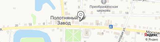 Деревня.рф на карте Полотняного Завода