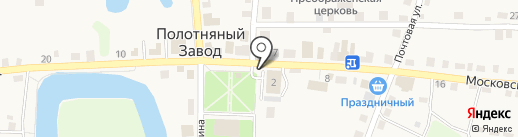 Белорусские продукты на карте Полотняного Завода