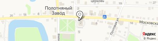 Зверский аппетит на карте Полотняного Завода