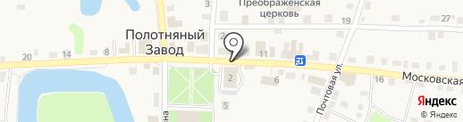 Деревенское мясо на карте Полотняного Завода