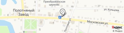 Мир на карте Полотняного Завода