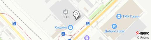 Промстройинвест, ЗАО на карте Орла