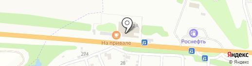 На Привале на карте Орла