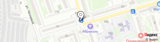 Киоск по продаже хлебобулочных изделий на карте Орла