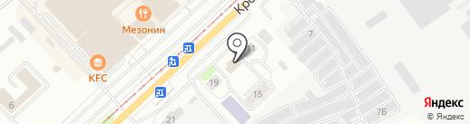 Кромское на карте Орла