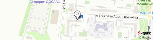 Сушитория на карте Зареченского