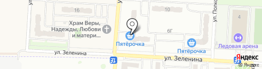 Орелстрой, ПАО на карте Зареченского