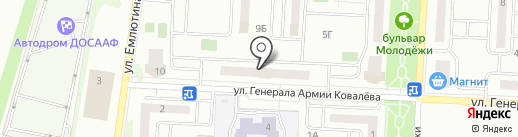 Эйфория на карте Орла