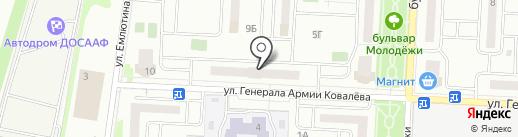 Торговая компания дверей и окон на карте Орла