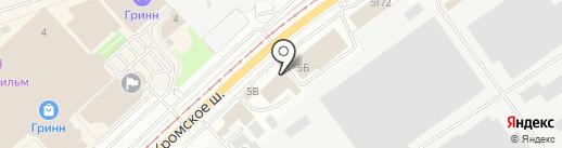 Альянс Авто на карте Орла