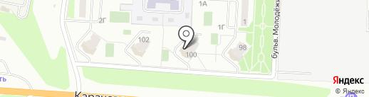 Перспектива на карте Орла