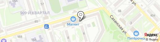 Мастерская по ремонту обуви на Саханской, 3 на карте Орла