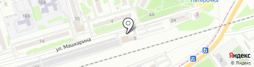 Авторой на карте Орла
