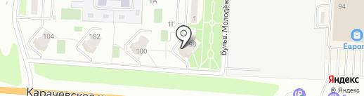Астория на карте Орла