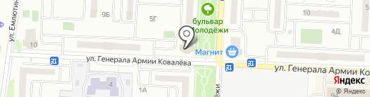 Фотокопировальный центр на карте Зареченского