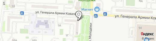 Viva на карте Зареченского